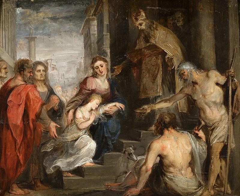 Présentation de la Vierge au temple. Peter Paul Rubens