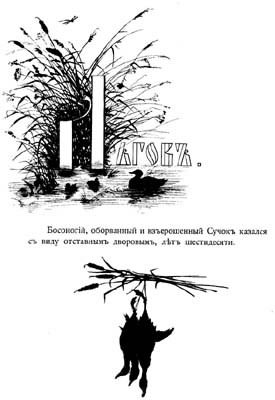 Silhouette. Types of Sketches Turgenev Lgov 1883.. Elizabeth Merkuryevna Boehm (Endaurova)