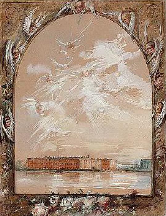 -Виды Санкт- Петербурга. 1894. Елизавета Меркурьевна Бём (Эндаурова)