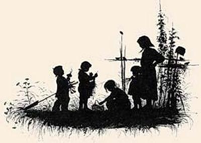 Silhouette of the book. From the village of memories, 1882 3. Elizabeth Merkuryevna Boehm (Endaurova)