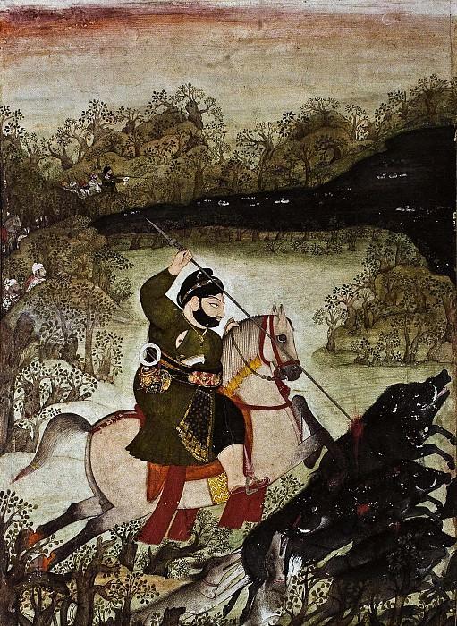 Chokha - Rawat Gokul Das Hunting Boar. Metropolitan Museum: part 2