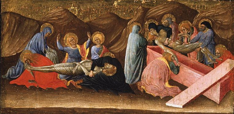 Bartolomeo di Tommaso - The Lamentation and the Entombment. Metropolitan Museum: part 2