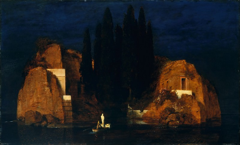 Arnold Böcklin - Island of the Dead. Metropolitan Museum: part 2