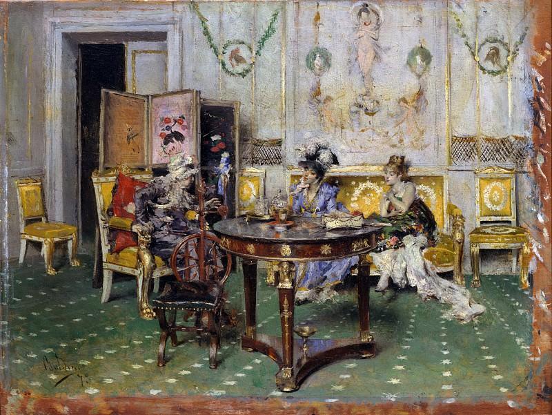 Giovanni Boldini - Gossip. Metropolitan Museum: part 2