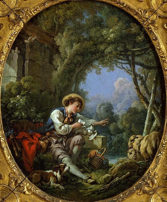 François Boucher - The Dispatch of the Messenger. Metropolitan Museum: part 2