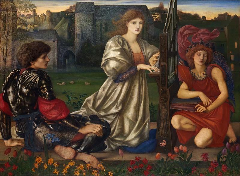 Sir Edward Burne-Jones - The Love Song. Metropolitan Museum: part 2
