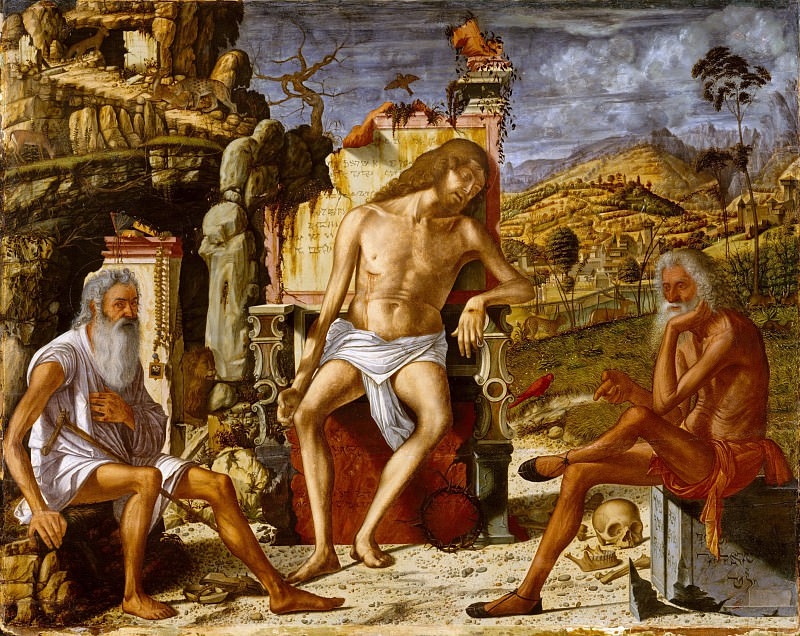 Vittore Carpaccio - The Meditation on the Passion. Metropolitan Museum: part 2