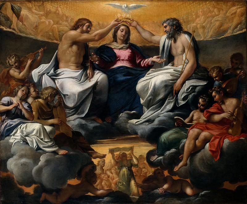 Аннибале Карраччи - Коронация Девы Марии. Музей Метрополитен: часть 2
