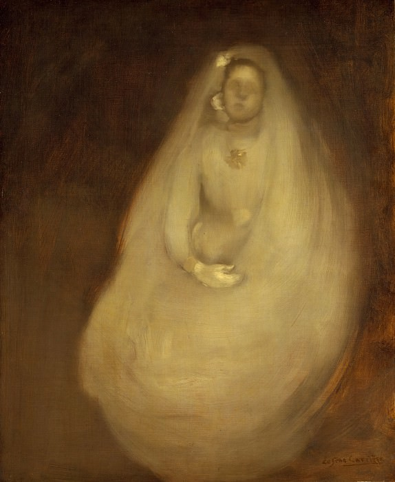 Eugène Carrière - The First Communion. Metropolitan Museum: part 2