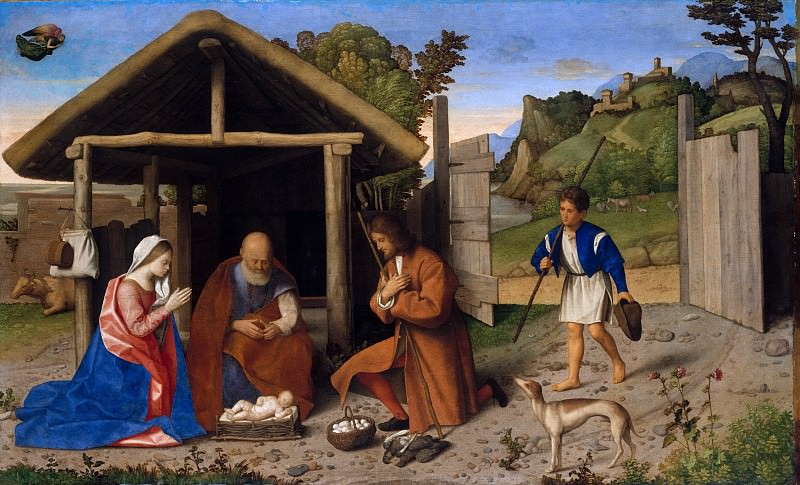 Catena (Italian, Venetian, active by 1506–died 1531) - The Adoration of the Shepherds. Metropolitan Museum: part 2