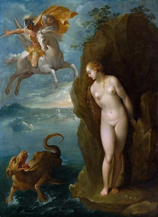 Приписывается Бернардино Чезари - Персей и Андромеда. Музей Метрополитен: часть 2