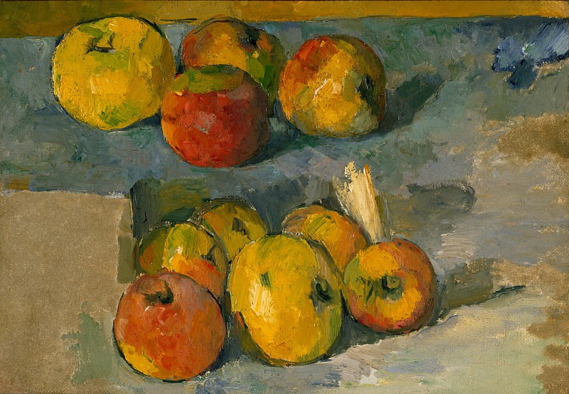 Paul Cézanne - Apples. Metropolitan Museum: part 2