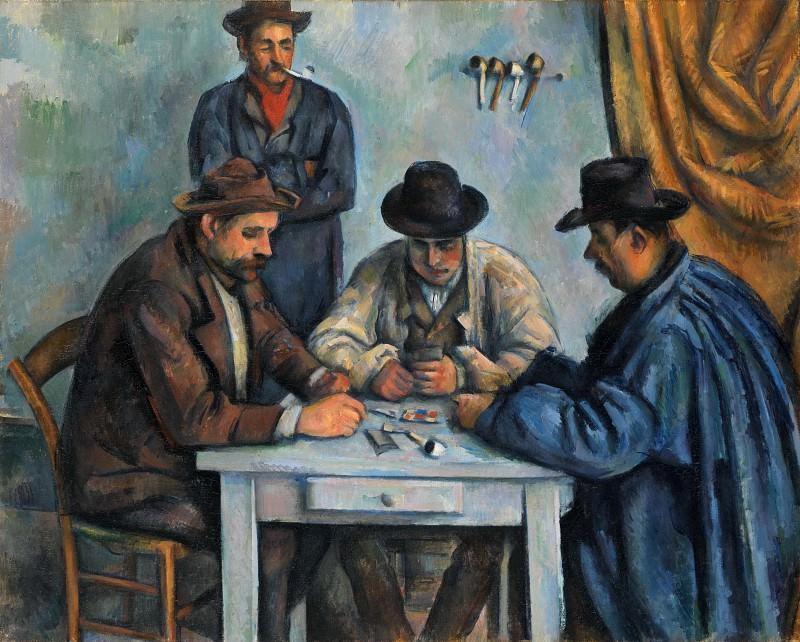 Paul Cézanne - The Card Players. Metropolitan Museum: part 2