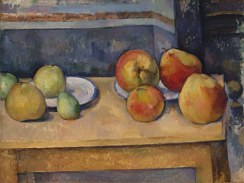 Paul Cézanne - Still Life with Apples and Pears. Metropolitan Museum: part 2
