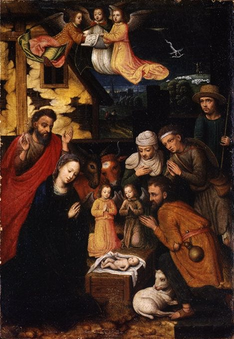 Marcellus Coffermans - The Adoration of the Shepherds. Metropolitan Museum: part 2
