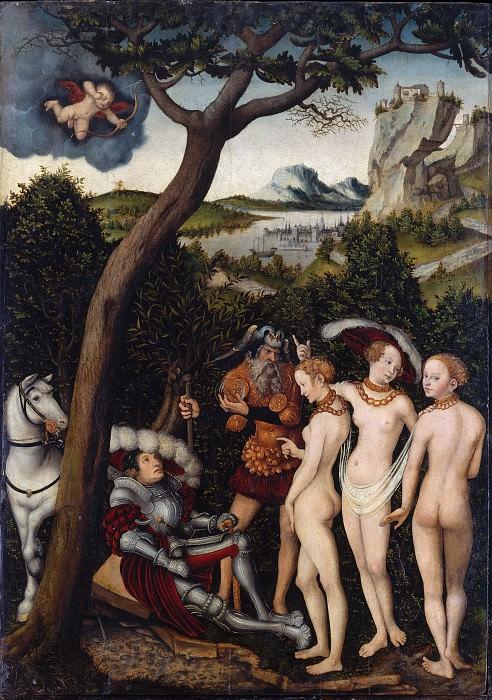 Lucas Cranach the Elder - The Judgment of Paris. Metropolitan Museum: part 2