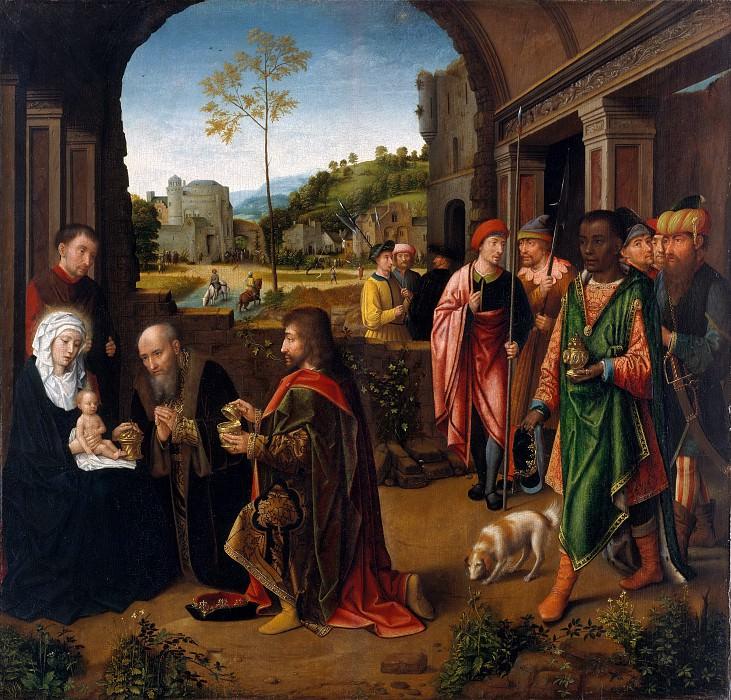 Workshop of Gerard David - The Adoration of the Magi. Metropolitan Museum: part 2