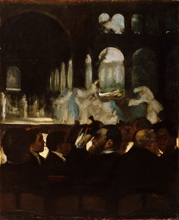 Edgar Degas - The Ballet from Robert le Diable. Metropolitan Museum: part 2