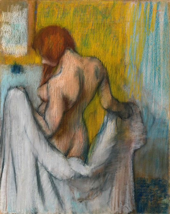 Edgar Degas - Woman with a Towel. Metropolitan Museum: part 2