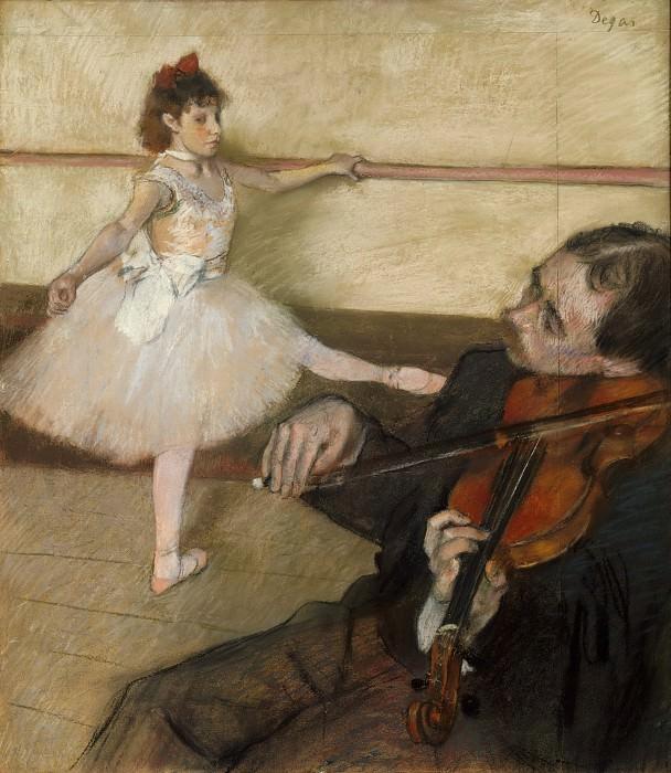 Эдгар Дега - Урок танца. Музей Метрополитен: часть 2