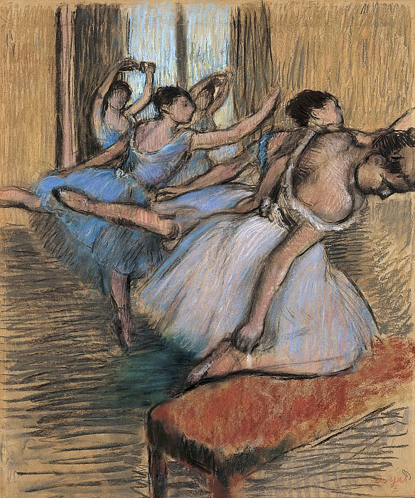 Edgar Degas - The Dancers. Metropolitan Museum: part 2