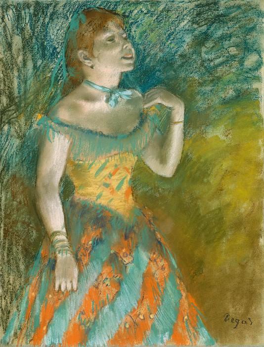 Эдгар Дега - Певица в зеленом. Музей Метрополитен: часть 2