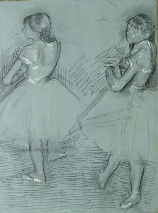 Edgar Degas - Two Dancers. Metropolitan Museum: part 2