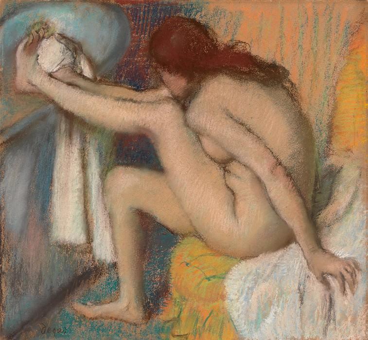 Edgar Degas - Woman Drying Her Foot. Metropolitan Museum: part 2