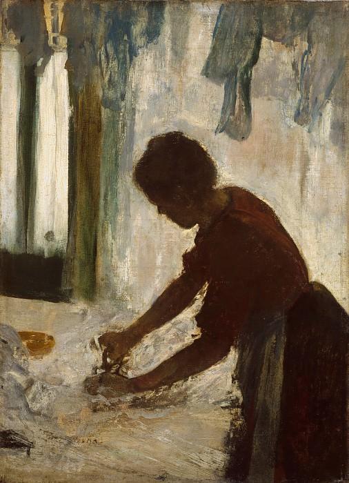 Edgar Degas - A Woman Ironing. Metropolitan Museum: part 2