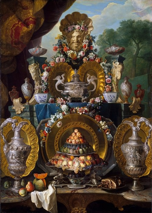 Alexandre François Desportes - Still Life with Silver. Metropolitan Museum: part 2
