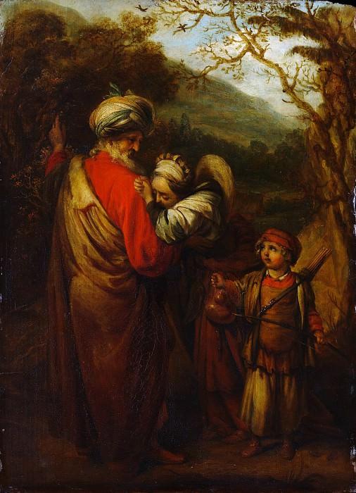 Барент Фабрициус - Авраам прогоняет Агарь и Измаила. Музей Метрополитен: часть 2