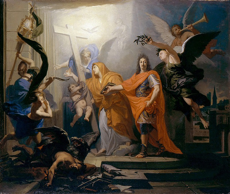 Antoine Rivalz - An Allegory, Probably of the Peace of Utrecht of 1713. Metropolitan Museum: part 2