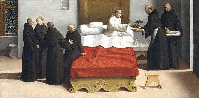 Garofalo (Italian, Ferrara 1481–1559 Ferrara) - Saint Nicholas of Tolentino Reviving the Birds. Metropolitan Museum: part 2