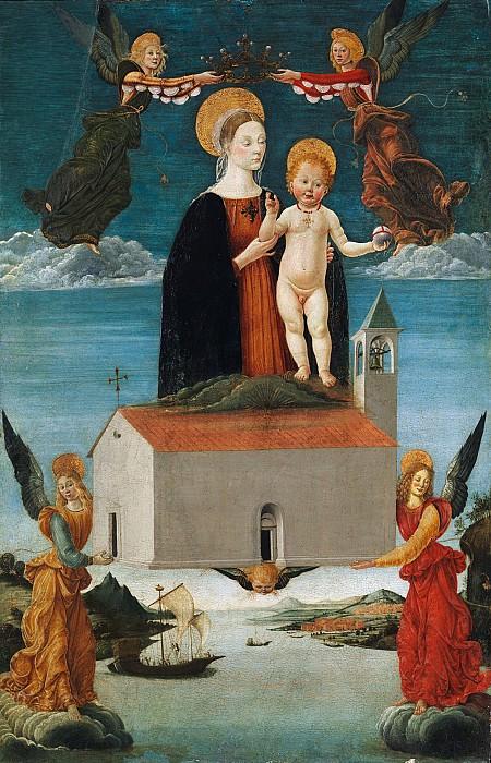 Saturnino Gatti - The Translation of the Holy House of Loreto. Metropolitan Museum: part 2