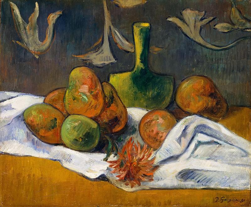 Style of Paul Gauguin - Still Life. Metropolitan Museum: part 2