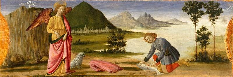Davide Ghirlandaio (Italian, Florence 1452–1525 Florence) - Tobias and the Angel. Metropolitan Museum: part 2