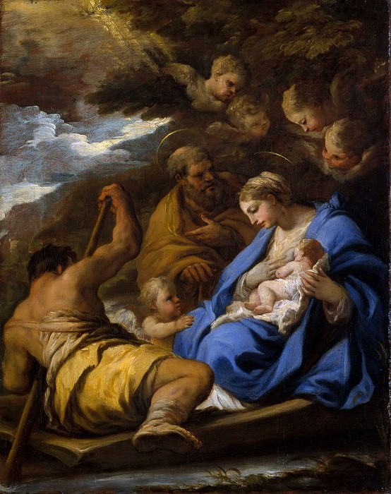Luca Giordano - The Flight into Egypt. Metropolitan Museum: part 2