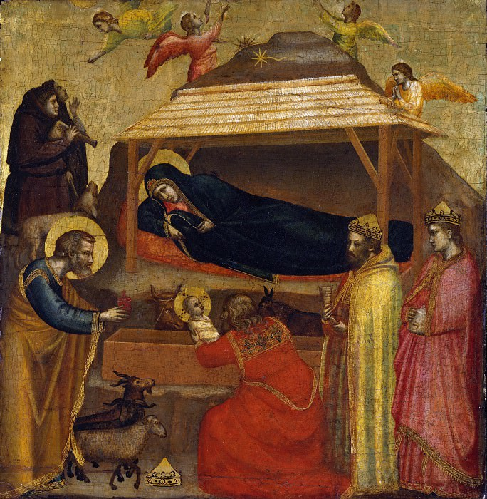 The Epiphany. Giotto di Bondone