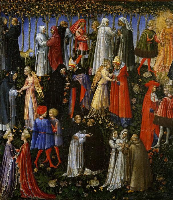 Giovanni di Paolo (Italian, Siena 1398–1482 Siena) - Paradise. Metropolitan Museum: part 2