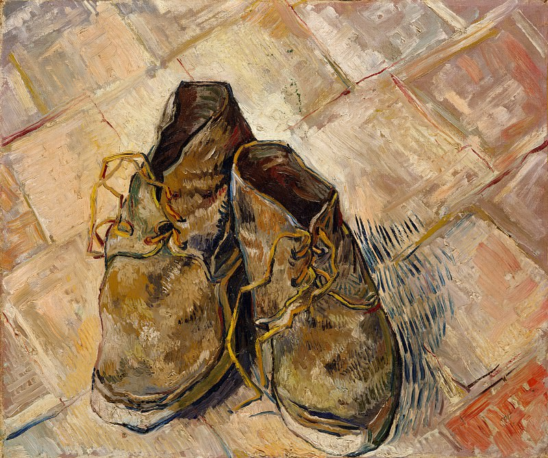 Shoes. Vincent van Gogh
