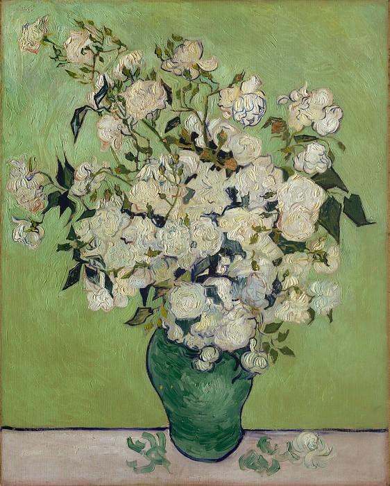 Vincent van Gogh - Roses. Metropolitan Museum: part 2
