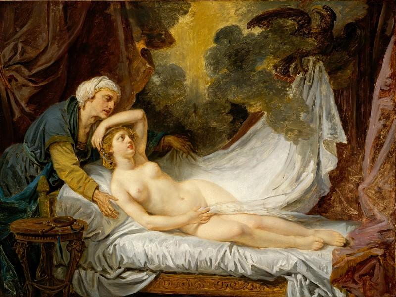 Jean Baptiste Greuze - Aegina Visited by Jupiter. Metropolitan Museum: part 2