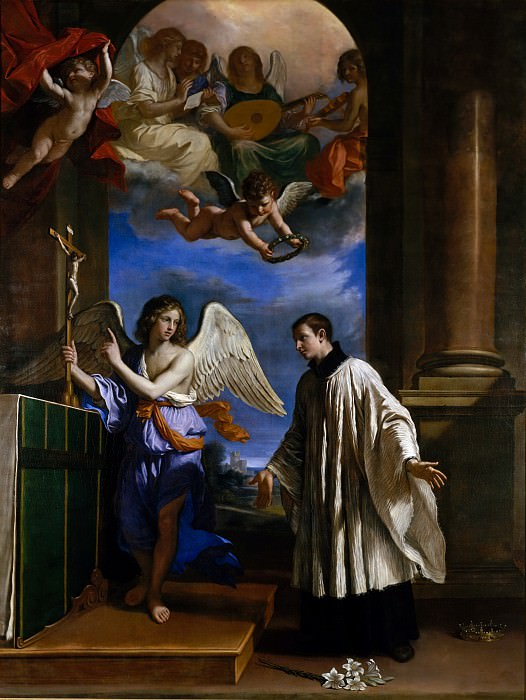 Guercino (Italian, Cento 1591–1666 Bologna) - The Vocation of Saint Aloysius (Luigi) Gonzaga. Metropolitan Museum: part 2