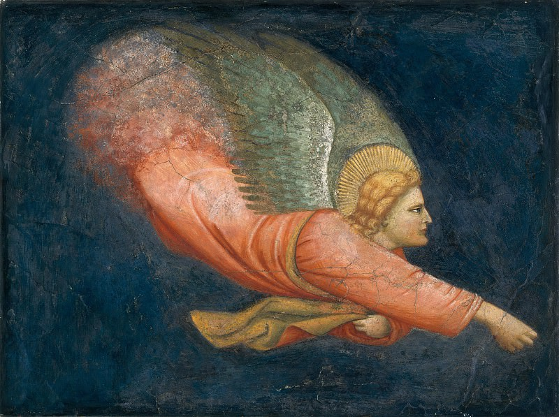 North Italian Painter, first quarter 14th century - Two Angels. Metropolitan Museum: part 2