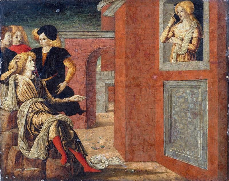 Liberale da Verona (Italian, Veronese, 1445–1527/29) - Scene from a Novella. Metropolitan Museum: part 2