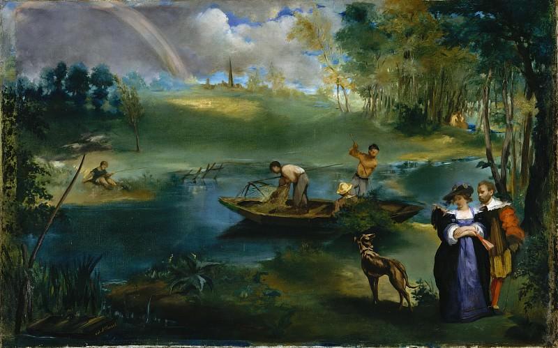 Édouard Manet - Fishing. Metropolitan Museum: part 2