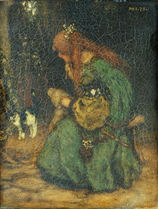 Matthys Maris - Reverie. Metropolitan Museum: part 2