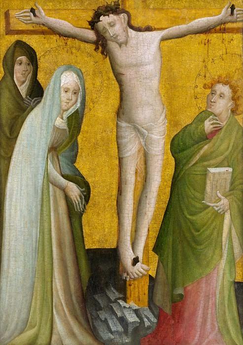 Master of the Berswordt Altar - The Crucifixion. Metropolitan Museum: part 2