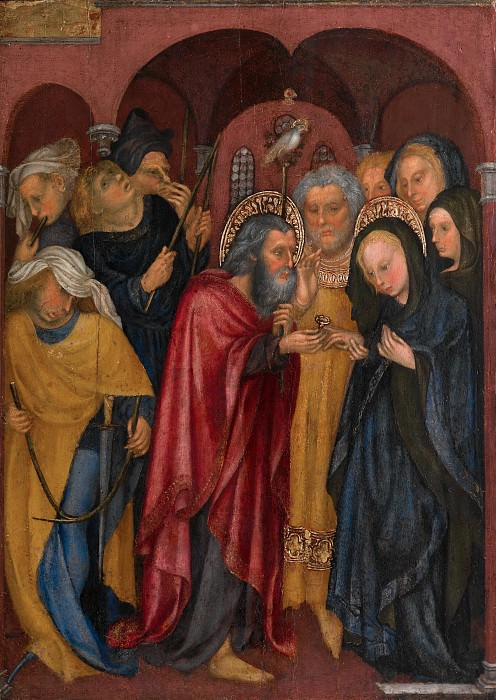 Michelino da Besozzo (Italian, Lombard, active 1388–1450) - The Marriage of the Virgin. Metropolitan Museum: part 2