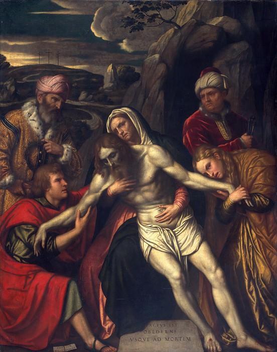 Moretto da Brescia (Italian, Brescia ca. 1498–1554 Brescia) - The Entombment. Metropolitan Museum: part 2